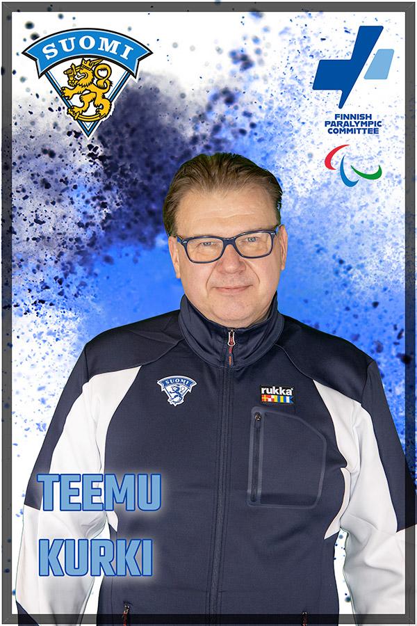 2. valmentaja Teemu Kurki